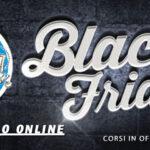 Black Friday – Corsi in offerta fino al 01.12.2019