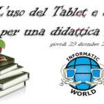"""Seminario Gratuito """"L'uso del tablet e della lim per una didattica inclusiva"""""""