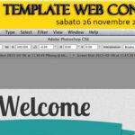 "Seminario Gratuito ""Creiamo un template web con photoshop"""