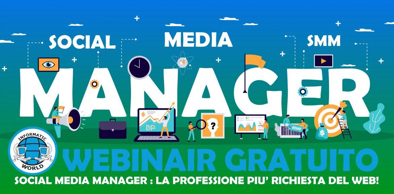 Webinar Gratuito Social Media Manager