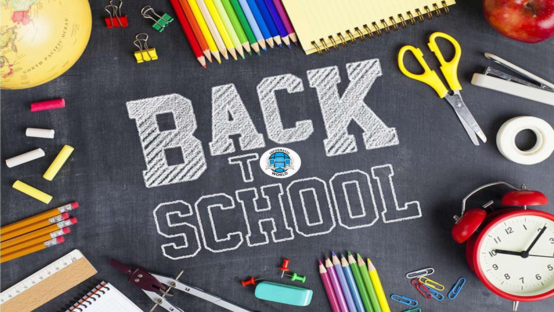 Back to School - offerte con scadenza il 30/09/2021